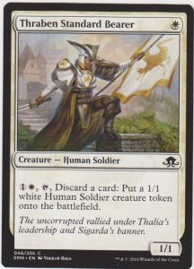 Magic the Gathering: Eldritch Moon - Thraben Standard Bearer