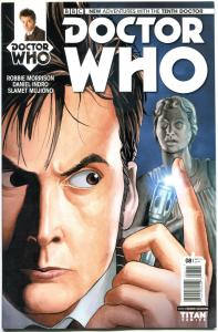 DOCTOR WHO #8 A, NM, 10th, Tardis, 2014, Titan, 1st, more DW in store, Sci-fi