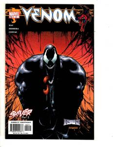 Lot Of 3 Venom Marvel Comic Books # 2 3 4 Spider-Man Carnage Goblin Rhino CR53
