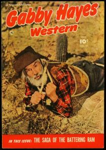 Gabby Hayes Western #23 1950- Fawcett- Photo cover VF