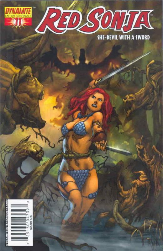 Red Sonja (Dynamite) #11B VF/NM; Dynamite | save on shipping - details inside