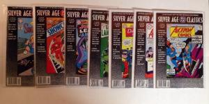 DC Silver Age Classics 7 Book Near Mint Lot Set Run Action Showcase Detective
