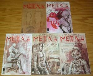 Ted McKeever's Meta4 #1-5 VF/NM complete series - meta 4 - image comics 2 3 set