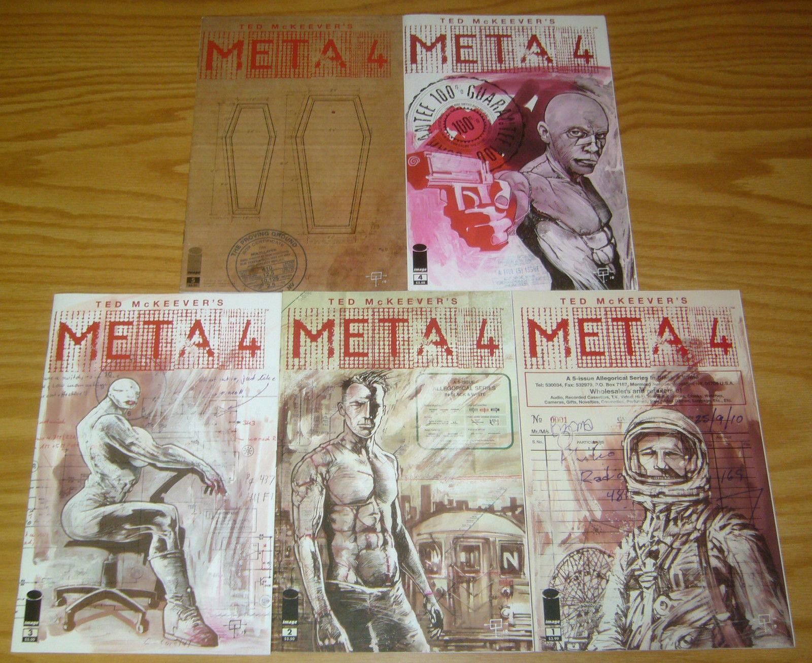 Ted McKeever's Meta4 #1-5 VF/NM complete series - meta 4 - image