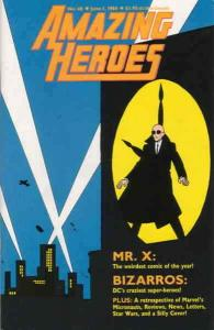 Amazing Heroes #48 FN; Fantagraphics   save on shipping - details inside