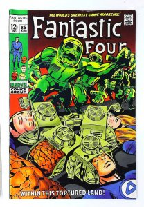 Fantastic Four (1961 series) #85, VF- (Actual scan)