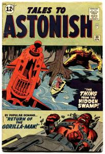 Tales To Astonish #30 1962 Steve Ditko Art-gorilla-man marvel-jack Kirby