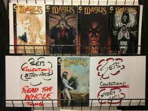 MAGUS (1998 CL) 1(all 3),2,Enlightened  COMPLETE STORY!