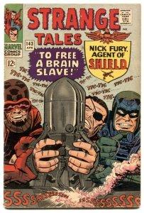 Strange Tales #143 1966- NICK FURY- DR STRANGE