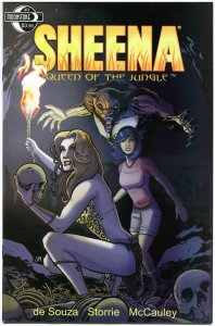 SHEENA QUEEN of the JUNGLE #3, VF+, Femme fatale, Moonstone, 2014, more in store