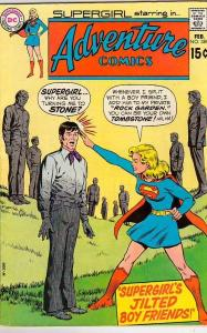Adventure Comics #389 (Feb-70) VF- High-Grade Supergirl