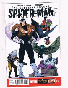 Superior Foes Of Spider-Man # 13 VF/NM 1st Print Marvel NOW Comic Book Rhino S63