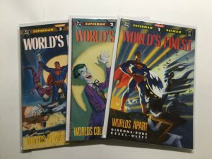 World's Finest 1-3 1 2 3 Lot Run Set Near Mint Nm Dc Comics