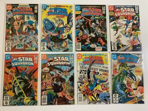 All Star Squadron lot #1-63 + Annual DC 25 different books 6.0 FN (1981-'86)