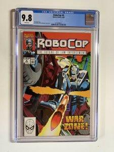 Robocop 6 Cgc 9.8 Wp Marvel