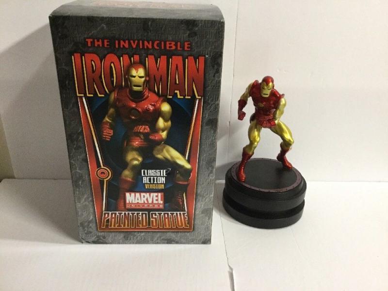 Invincible Iron Man Classic Action Version 0562/1500 Painted Statue Bowen