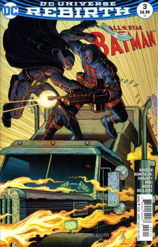 All-Star Batman #3 VF/NM; DC | save on shipping - details inside