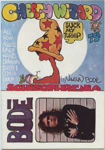 CHEECH WIZARD SCHIZOPHRENIA (Last Gasp, 1973) Scarce First Printing in Very Fine
