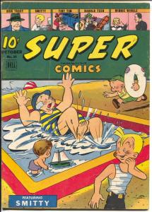 Super #89 1945-Dell-Dick Tracy-Little Orphan Annie-Harold Teen-Smitty-VG+