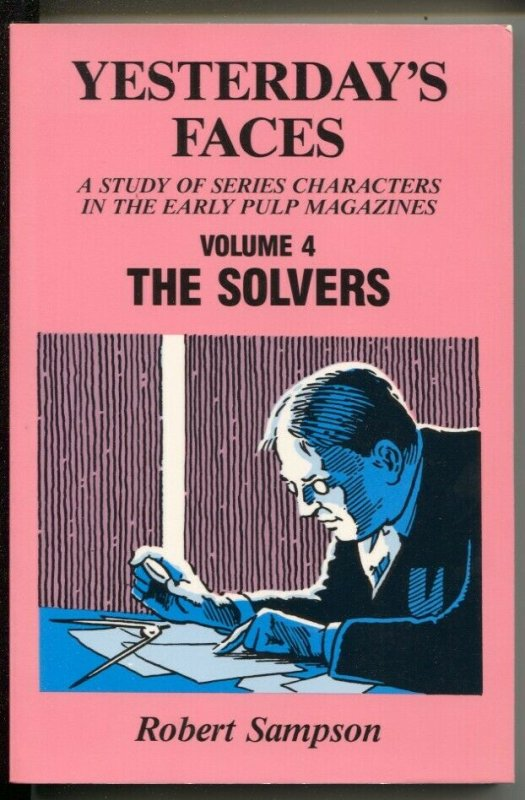 Yesterday's Faces #4 1987-Study Of Series Characters In Early Pulp Magazines-VF