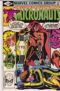 Micronauts #34