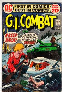 G.I. Combat #155 (Sep-72) VF+ High-Grade The Haunted Tank
