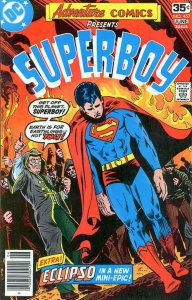 Adventure Comics #457 FN; DC | save on shipping - details inside