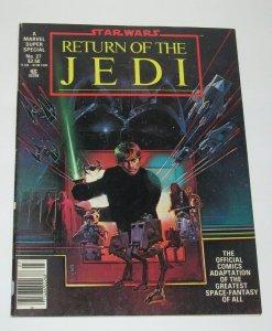 Marvel Comics Super Special #27 Star Wars Return of the Jedi 1983 Magazine VF