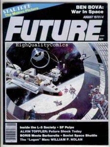 FUTURE #4, Sci-Fi Magazine, Barbarella, 1978, NM-, Star Trek,