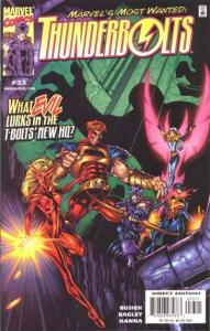 Thunderbolts (1997 series) #33, NM- (Stock photo)