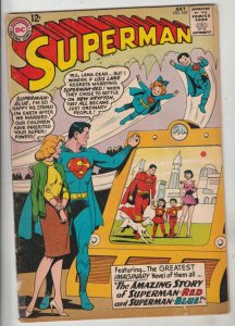 Superman #162 (Jul-63) FN- Mid-Grade Superman, Jimmy Olsen,Lois Lane, Lana La...
