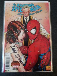 AMAZING SPIDER-MAN: RENEW YOUR VOWS #5 VARIANT SIGNED BY DAN SLOTT