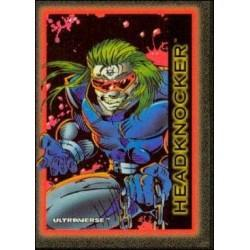 1993 Skybox Ultraverse: Series 1 HEADKNOCKER #60
