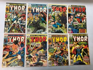 Bronze Age Thor Comics Lot 43 different