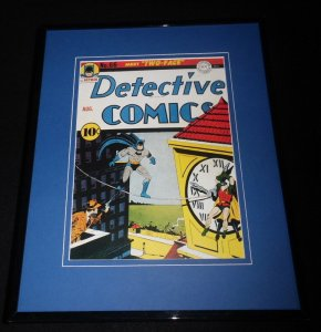 Detective Comics #66 Framed 11x14 Repro Cover Display Batman Robin Two Face