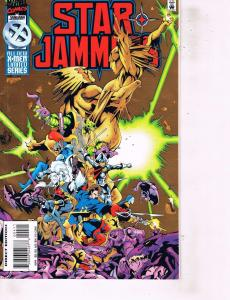 Lot Of 2 Marvel Comic Books Star Jammers #4 and Iron Manual #1  ON2