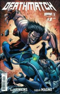 Deathmatch #1 (2nd) VF/NM; Boom!   save on shipping - details inside