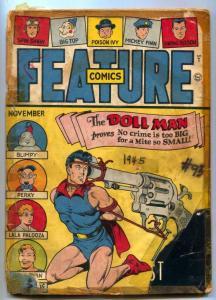 Feature Comics #93 1945- DOLL MAN-low grade restored