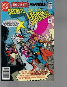 Secrets of the Legion of Super-Heroes #3 (DC, 1981) NM