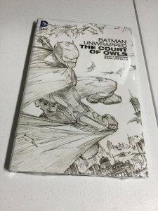 Batman Unwrapped The Court Of Owls Nm Near Mint Oversized HC Hardcover DC Comics