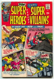 Super Heroes Versus Super Villians #1 1966- Black Hood VG-