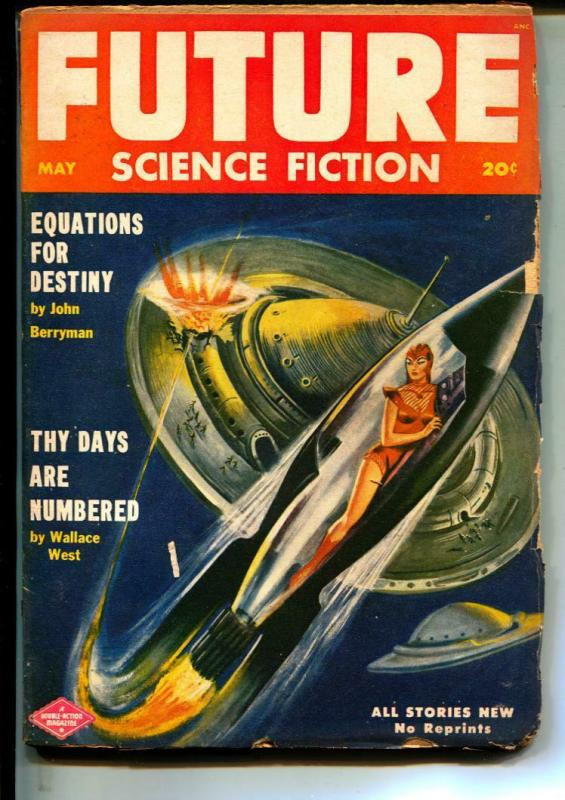 Future Science Fiction-Pulps-5/1952-Lester del Ray-John Berryman