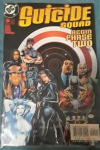 DC COMICS-SUICIDE SQUAD-BEGIN PHASE TWO-REBIRTH-#9-DATED-JULY 2002