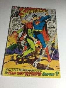 Superman 205 Vg Very Good 4.0 DC Comics