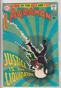 Aquaman #38 (Apr-68) FN Mid-Grade Aquaman, Aqualad, Mira
