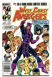West Coast Avengers #1-1985 Comic Book-First issue-Hawkeye