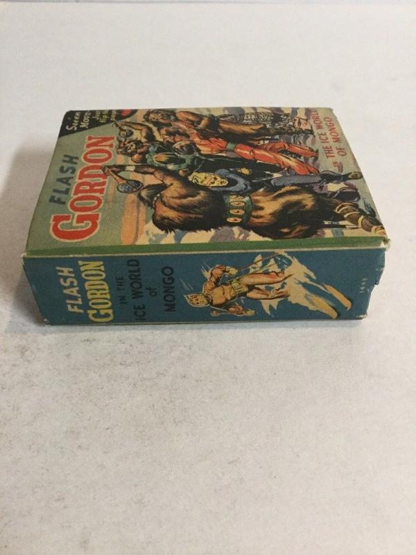 Flash Gordon The Ice World Of Mongo Vf Very Fine 8.0 Big Little Books 1443