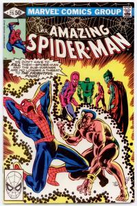 Amazing Spider-Man #215 NM 9.4  Sub-Mariner, the Wizard