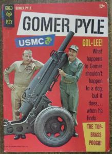 GOMER PYLE (Gold Key, 7/1966) #1 VERY GOOD (VG). Photo Cover Comic! Jim Nabors
