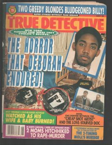 True Detective 8/1994-RGH-Dismemberment photos & story-Murder-arson-Violent c...